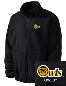 Kennesaw State University Owls Embroidered Men's Fleece Jacket