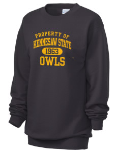 Kennesaw State University Owls Unisex 7.8 oz Lightweight Crewneck Sweatshirt