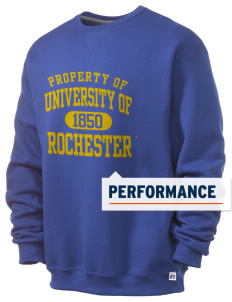 University of Rochester Yellowjackets  Russell Men's Dri-Power Crewneck Sweatshirt