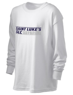 Saint Luke's College   COLLEGE Kid's 6.1 oz Long Sleeve Ultra Cotton T-Shirt