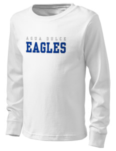 Agua Dulce Elementary School Eagles  Kid's Long Sleeve T-Shirt