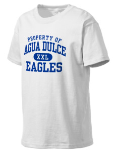 Agua Dulce Elementary School Eagles Kid's Lightweight T-Shirt