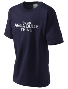 Agua Dulce Elementary School Eagles Kid's Organic T-Shirt