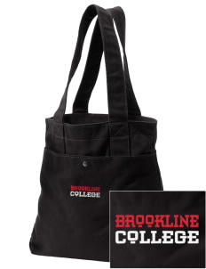 Brookline College College Embroidered Alternative The Berkeley Tote