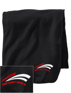 Caritas Academy The Lady Eagle Embroidered Holloway Stadium Fleece Blanket