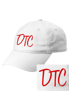 The DTC The DTC  Embroidered New Era Adjustable Unstructured Cap
