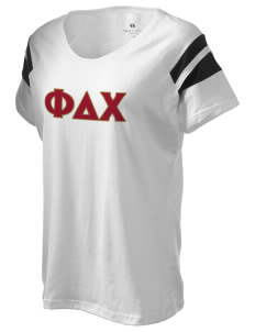 Phi Delta Chi Holloway Women's Shout Bi-Color T-Shirt