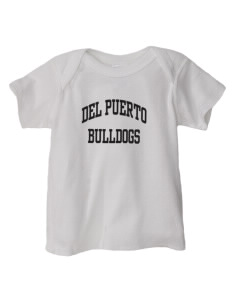 Del Puerto High School Bulldogs  Baby Lap Shoulder T-Shirt
