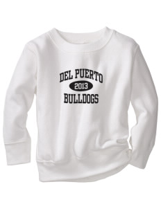 Del Puerto High School Bulldogs Toddler Crewneck Sweatshirt