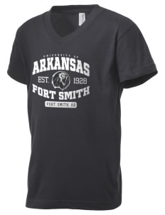University of Arkansas - Fort Smith Lions Kid's V-Neck Jersey T-Shirt