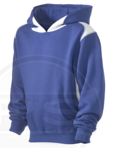 Cheyenne Mountain Air Station Kid's Pullover Hooded Sweatshirt with Contrast Color