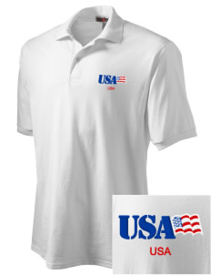 Dover AFB Embroidered Men's Jersey Polo