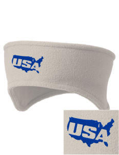 Dover AFB Embroidered Fleece Headband