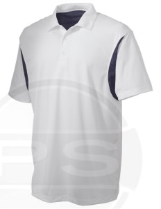 Dover AFB Embroidered Men's Back Blocked Micro Pique Polo