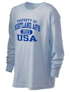 Kirtland AFB Kid's 6.1 oz Long Sleeve Ultra Cotton T-Shirt