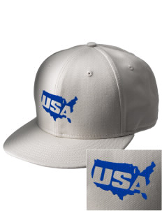 Charleston AFB  Embroidered New Era Flat Bill Snapback Cap