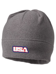 Brooks AFB Embroidered Fleece Beanie