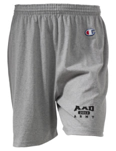 "Anniston Army Depot  Champion Women's Gym Shorts, 6"" Inseam"