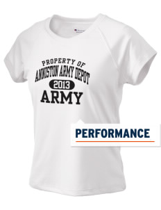 Anniston Army Depot Champion Women's Wicking T-Shirt