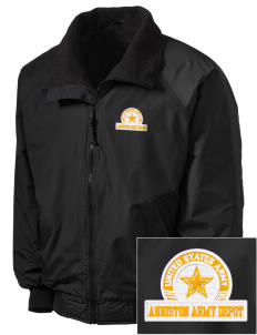 Anniston Army Depot Embroidered Tall Men's Challenger Jacket