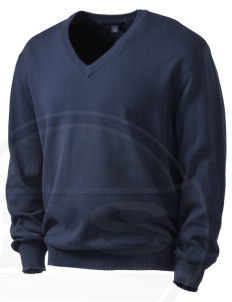 Fort Richardson Embroidered Men's V-Neck Sweater