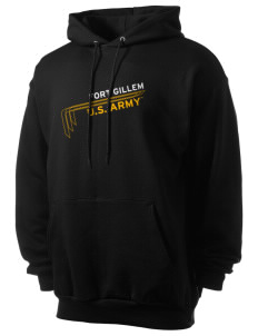 Fort Gillem Men's 7.8 oz Lightweight Hooded Sweatshirt
