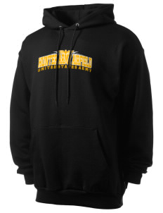 Hunter Army Airfield Men's 7.8 oz Lightweight Hooded Sweatshirt