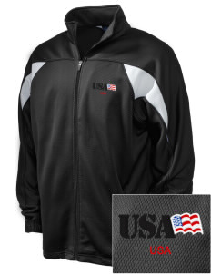 Price Support Center Embroidered Holloway Men's Full-Zip Track Jacket