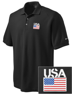 Aberdeen Proving Ground Embroidered Nike Men's Pique Knit Golf Polo