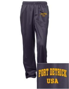 Fort Detrick Embroidered Women's Tricot Track Pants