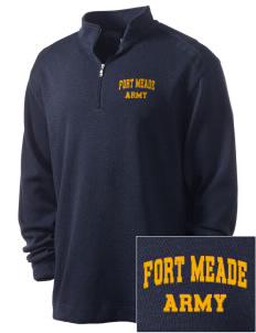 Fort Meade Embroidered Nike Men's Golf Heather Cover Up