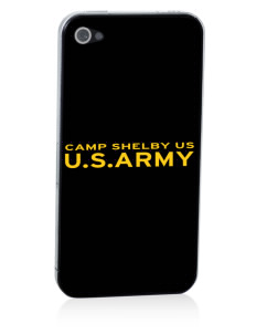 Camp Shelby Apple iPhone 4/4S Skin