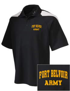 Fort Belvoir Embroidered Holloway Men's Frequency Performance Pique Polo