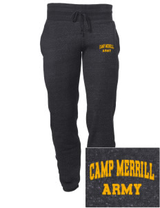 Camp Frank D. Merrill Embroidered Alternative Men's 6.4 oz Costanza Gym Pant