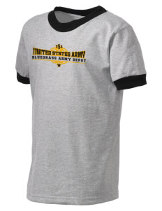 Bluegrass Army Depot Kid's Ringer T-Shirt