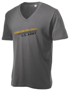 Bluegrass Army Depot Alternative Men's 3.7 oz Basic V-Neck T-Shirt