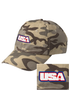 Camp Beauregard Embroidered Camouflage Cotton Cap