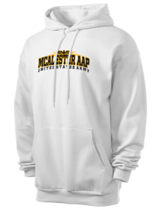 Mcalester Army Ammunition Plant Men's 7.8 oz Lightweight Hooded Sweatshirt