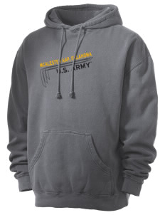 Mcalester Army Ammunition Plant Men's 80/20 Pigment Dyed Hooded Sweatshirt