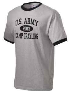 Camp Grayling Champion Men's Ringer T-Shirt