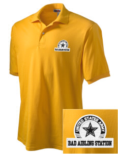 Bad Aibling Station Embroidered Men's Jersey Polo