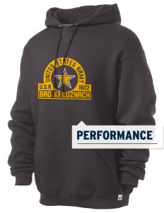 Bad Kreuznach Russell Men's Dri-Power Hooded Sweatshirt