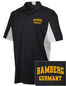Bamberg Embroidered Men's Side Blocked Micro Pique Polo