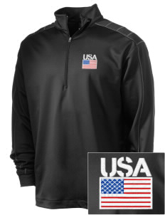 Darmstadt Embroidered Nike Men's Golf Dri-Fit 1/2 Zip