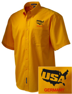 USAG Schweinfurt Embroidered Men's Easy Care Shirt