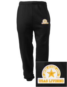 Camp DarbyLivorno Embroidered Men's Sweatpants with Pockets