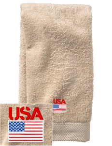 Camp Zama  Embroidered Zero Twist Resort Hand Towel