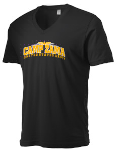 Camp Zama Alternative Men's 3.7 oz Basic V-Neck T-Shirt