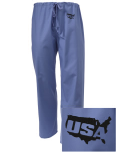 Camp Casey Embroidered Scrub Pants