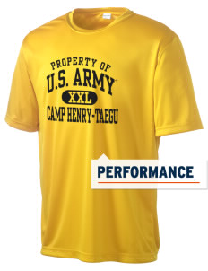 Camp Hienry-Taegu Men's Competitor Performance T-Shirt